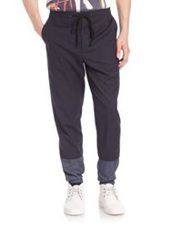 3.1 Phillip Lim Nylon Blend Cuff Lounge Pants Midnight