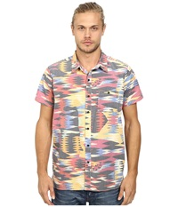 Deus Ex Machina Dudley Short Sleeve Shirt Techno Men's Short Sleeve Button Up Multi