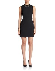 French Connection Sundae Suiting Dress Black