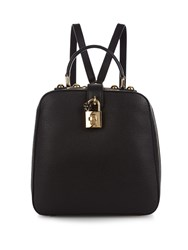 Dolce And Gabbana Rosaria Leather Box Backpack