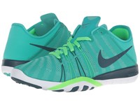 Nike Free Tr 6 Clear Jade Rage Green White Midnight Turquoise Women's Cross Training Shoes