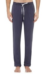 Barneys New York Men's Jersey Drawstring Lounge Pants Blue