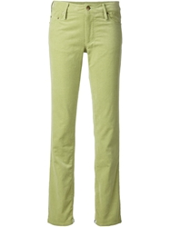 Harvey Faircloth Corduroy Trousers Green