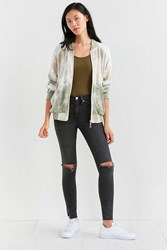 Without Walls Reversible Tie Dye Bomber Jacket Novelty