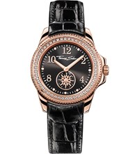 Thomas Sabo Glam And Soul Black And Rose Three Hand Watch