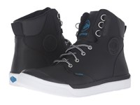 Palladium Pallarue Hi Cuff Wp Black White Men's Lace Up Casual Shoes