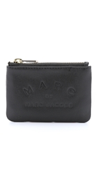 Marc By Marc Jacobs Big N Boss Coin Pouch Black