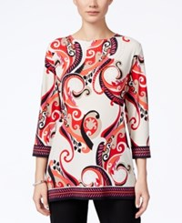 Jm Collection Printed Tunic Only At Macy's Summer Whirl