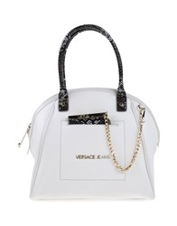 Versace Jeans Bags Handbags Women White