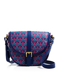 Liberty London Liberty Of London Carnaby Saddle Crossbody Navy