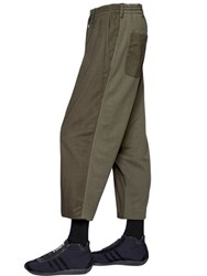 Yohji Yamamoto Two Tone Light Cotton Twill Pants