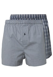 Marc O'polo 2 Pack Boxer Shorts Blue Black