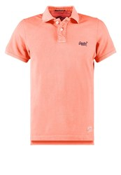 Superdry Polo Shirt Electric Orange
