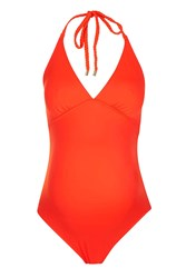 Topshop Maternity Coral Swimsuit