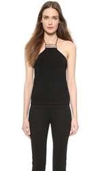 Kaufman Franco Halter Top Black