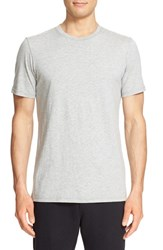 Wings Horns Men's Short Sleeve Crewneck T Shirt Heather Grey