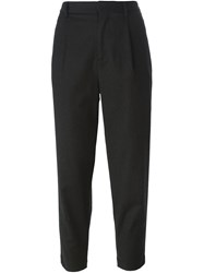 Barena Cropped Tapered Trousers Grey
