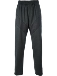 Givenchy Panelled Relaxed Trousers Grey