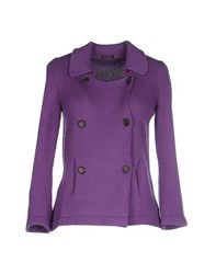Ballantyne Knitwear Cardigans Women Purple