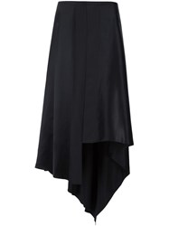 Elizabeth And James Asymmetric Skirt Black