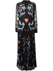 Mary Katrantzou Graphic Cowboy 'Mizar' Dress Black