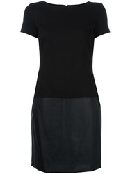 Lauren Ralph Lauren Panelled Dress Black