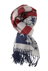 Forever 21 American Flag Scarf