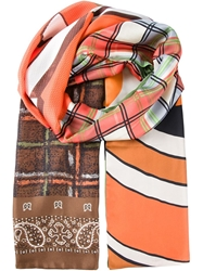 Pierre Louis Mascia Pierre Louis Mascia Mixed Print Scarf