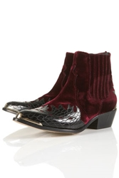 Arson Flame Western Boots Topshop