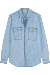 Michael Michael Kors Washed Denim Shirt