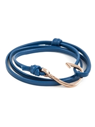 Miansai Fish Hook Bracelet Blue
