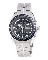 Breil Milano Stainless Steel Performance Watch Black Breil