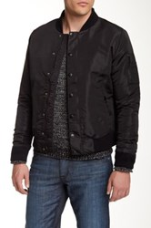 Hudson Jeans The Bomber Jacket Black