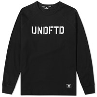 Undefeated Long Sleeve Raglan Tee Black