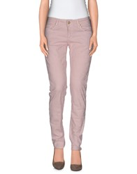 Shaft Trousers Casual Trousers Women Pink