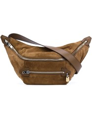 Alexander Wang 'Padlock' Bum Bag Brown