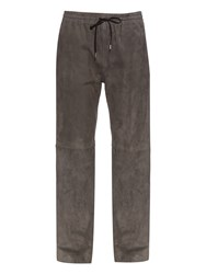 Joseph Loulou Suede Trousers