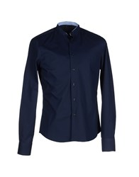 Yoon Shirts Shirts Men Dark Blue