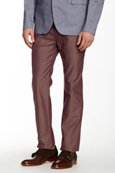 Ted Baker Twill Trouser Purple