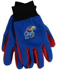 Forever Collectibles Kansas Jayhawks Palm Gloves