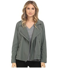 Splendid Palomar Poplin Jacket Aluminum Women's Jacket Gray