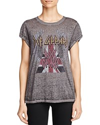 Signorelli Def Leppard Graphic Tee Charcoal Heather
