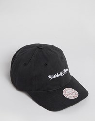 Mitchell And Ness Baseball Cap Adjustable Black