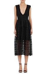 Nicholas Women's Mosaic Lace Ball Dress Black