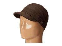 San Diego Hat Company Cth3712 Cadet With Side Tabs Brass Buttons Brown Traditional Hats