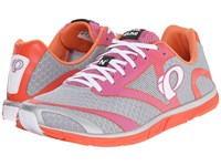 Pearl Izumi Em Road N 0 V2 Silver Clementine Women's Running Shoes Gray