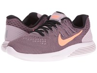 Nike Lunarglide 8 Plum Fog Purple Shade Pearl Pink Bright Mango Women's Running Shoes