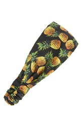 Cara Women's Pineapple Print Head Wrap
