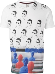 Antonio Marras Foosball Print T Shirt White