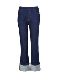 See By Chloe Button Detail Straight Jeans Blue